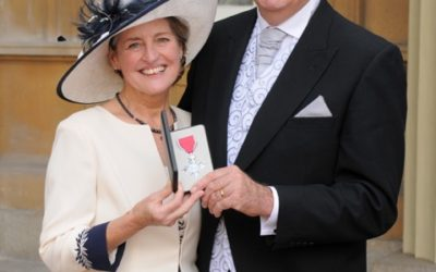 Bradford surgeon picks up MBE at Buckingham Palace